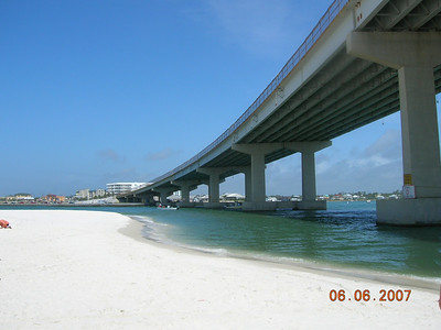 Perdido Pass, one mile from Turquoise Place, connects bay system with the Gulf