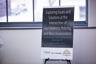 Gun Violence, Policing, & Mass Incarceration Roundtables