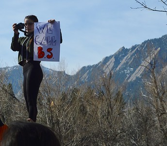 Boulder High gun protest (7)