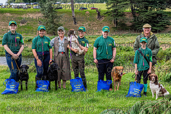DVWGC  Junior Members at Chatsworth Country Fair 2019