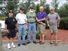 "Poconos_Mini-Mini-01  ""Bear"" Senick, Mahlon Fegley, Joseph ""Dud"" Bruggeman, John ""Chunky"" Carlson and ""Stud"" Conlon in the Poconos for a mini-reunion in 2010."