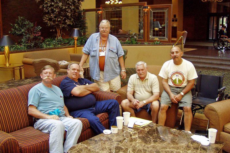 KCR-04 Alan Allen, Don Kaiser, Harry Thompson, Curtis Lingbeck, and Jim Fontana