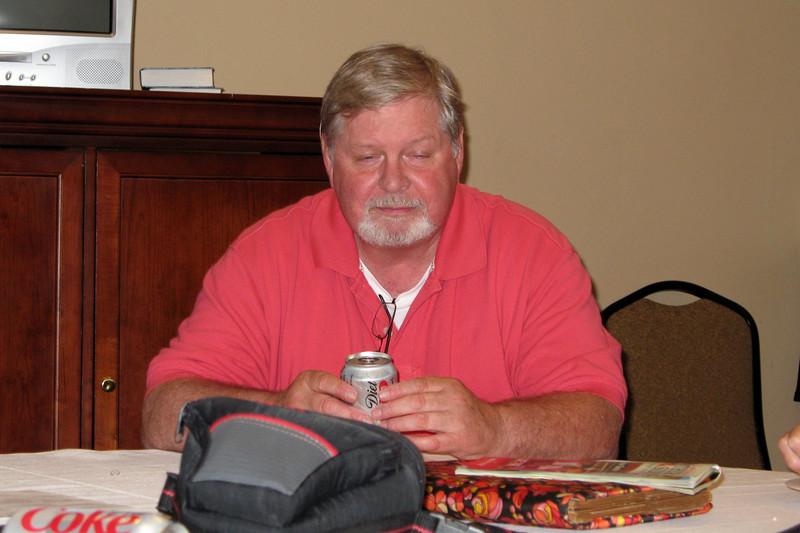 JR15: Brian Keelan meditating on Diet Coke can