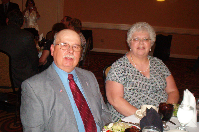 JR36: Paul and Jill Senick (PA) clean up very nice don't they?