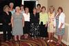 JR23: L to R - Gina Watson, Judy Finger, Jill Senick, Jan Hammett, June Tabb, Judy Turner, Debbie Moles, Sue Jane Brewer, Gail Rawlings, and Terri (won the big bucks)Buelow