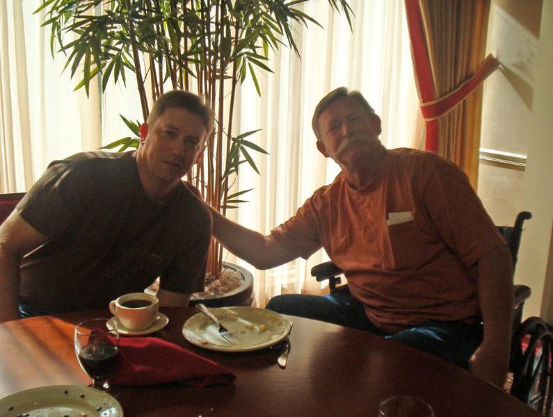 JR54: Jeff Allen and his older brother, Alan (1st Plt, TX).