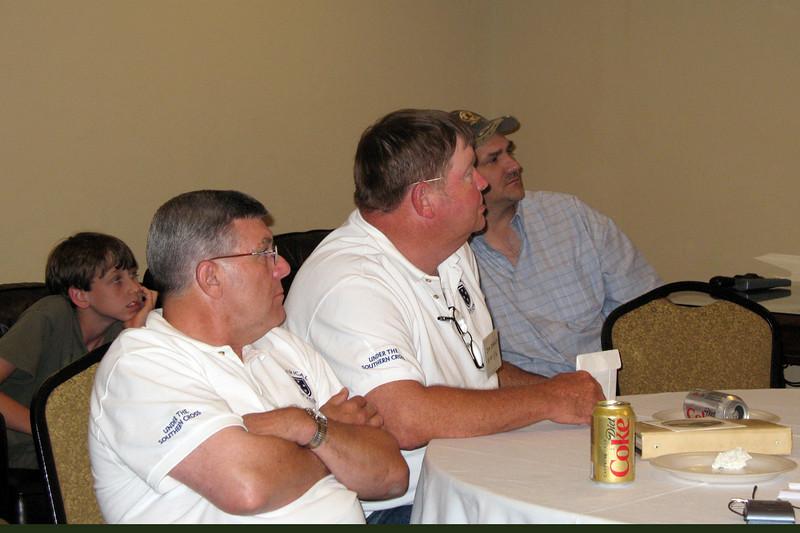 JR06: Colton Kaiser (Don's Grandson) Bob Moles (MO, Weapons Plt), Jim Brewer (MO, Weapons Plt), Donny Kaiser (Don's Son)