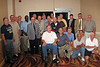 "JR22: Standing from left - Eugene ""Joe"" Gamache (HHC), Gary LaRussa (3rd Plt), Ron Melyan (3rd Plt), Larry Swank (FO), Willie Harris (1st Plt), Paul Senick (1st Plt), Bob ""Doc"" Finger (Medic), Larry Watson (2nd Plt), Don Kaiser (3rd Plt), Bob Moles (Weapons Plt), Jim Turner (Weapons Plt), Lawrence Shull (1st Plt), Ralph ""Red"" Nash (HHC), Harry Thompson (HQ Plt) hiding behind Red, Jim Brewer (Weapons Plt), Duff Rawlings (2nd Plt & Commo Chief), Terry Buelow (2nd Plt) – down front – Alan Allen (1st Plt), Bill Burley (3rd Plt Leader), Don Hammett (2nd Plt), Miguel Rodriguez (Co A 1st Sergeant), Jerry Baynes (1st Plt), Marvin Tabb (1st Plt)  - Not in photo – Brian Keelan (Weapons Plt) and arriving on Sunday both Thomas ""Harry"" Mullis (1st Plt) and James Nail (1st Plt)"