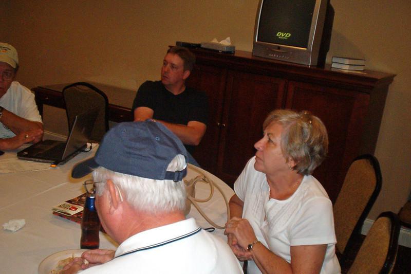 JR33: Marvin Tabb in front, Jeff Allen (in background), and June Tabb.