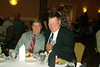 JR34: Two Missouri men from 4th Platoon, Bob Moles and Jim Brewer, enjoy the banquet.