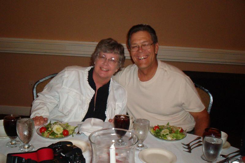 JR37: Judy and Jim Turner (TX, 4th Plt) at the Americal Banquet.