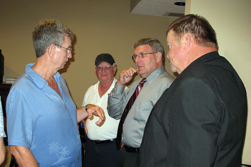 JR19: L to R - Don Hammett, Marvin Tabb Bob Moles, and Jim Brewer
