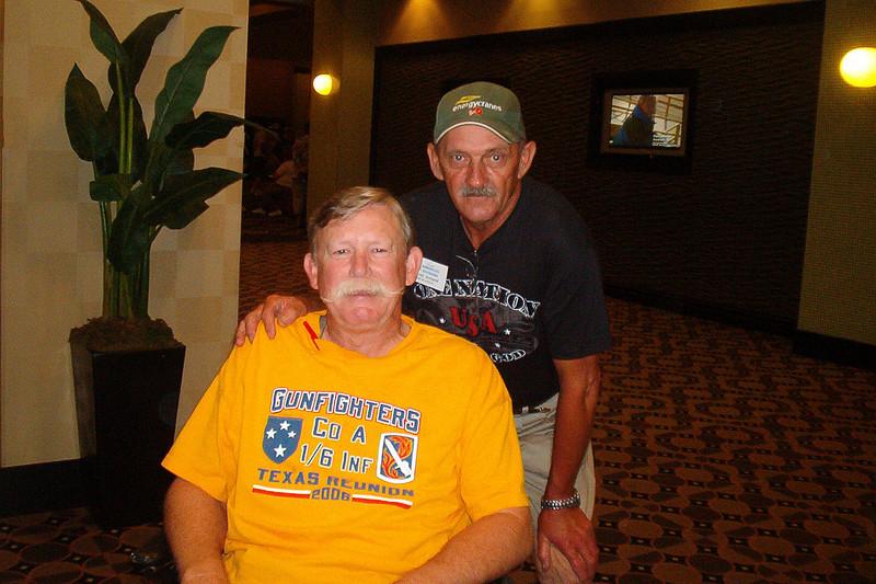 BCR-017 Alan Allen, TX, and Patrick Armand, LA, both of 1st Platoon.
