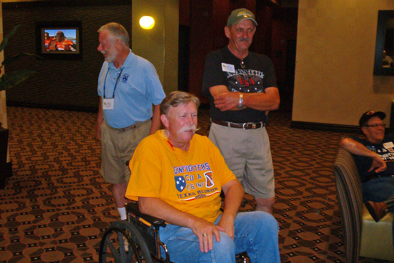BCR-015 John C Willard, NC, Alan Allen, TX, and Patrick Armand, LA.