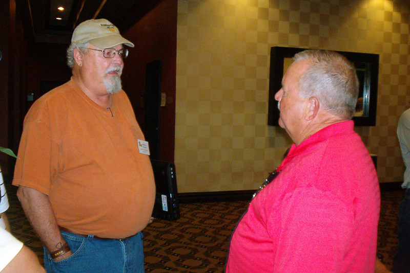 BCR-026 Harry Thompson and Ron Bozeman, Texans, reminisce.