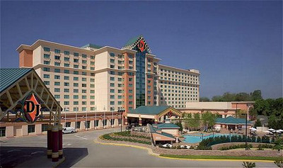 Diamond Jacks Hotel and Casino on the Red River in Shreveport-Bossier City, Louisiana