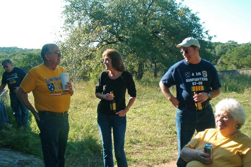 TX-09-MINI-11: Joe Gamache, Tommy Foley, Cindy Boetsch, Larry Boetsch, and Jill Senick.