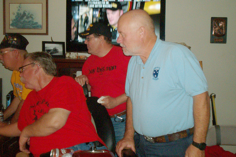 TX-09-MINI-05: Paul Senick, Alan Allen, Buddy Meyer, and Terry Buelow.