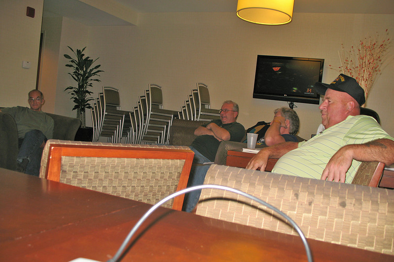 CR022: Daniel Denke, Frank Kelly, Joe Gamache, and Frenchy Charbonneau.