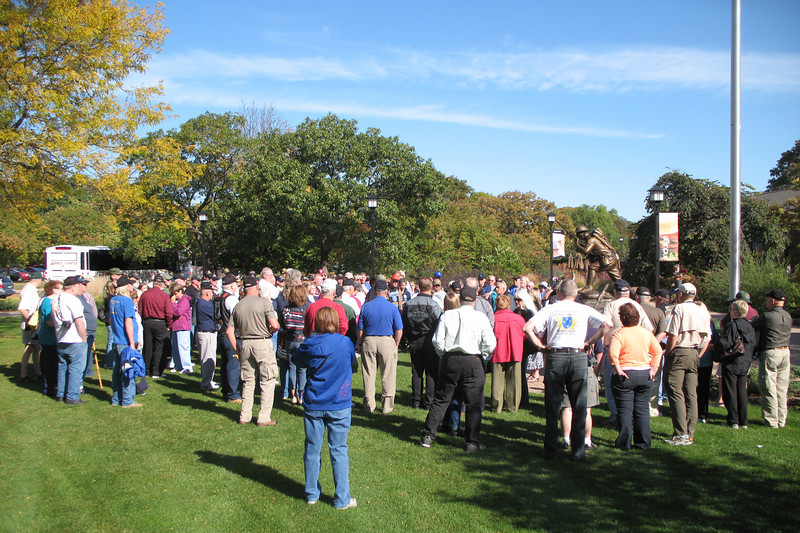 CR016: Tour included the John McCormick mansion, war museum, visitor center and attention-grabbing grounds