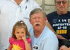 "TX-11-MINI-41: Alan ""Paw Paw"" Allen and grandaughter Riley Allen in Texas for the June 2011 mini-reunion. Joe Gamache is at right."