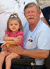 "TX-11-MINI-42: Alan ""Paw Paw"" Allen and grandaughter Riley Allen in Texas for the June 2011 mini-reunion."