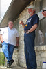 TX-11-MINI-05: Don Kaiser and Bill Wendover talk over old times during the Texas mini, June 2011.