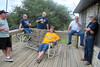 TX-11-MINI-10: Frenchy Charbonneau, Joe Gamache, John Carlson, Don Kaiser, and Bill Wendover tell Allen's sister Judy Johnson a bunch of lies about how Alan acts when she's not around. Texas mini, June 2011.