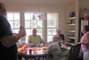 TX-11-MINI-19: Harry Thompson, Bill Wendover, and Frenchy and Tessie Charbonneau try to stay cool in Alan Allen's house during the June 2011 mini-reunion in Texas.