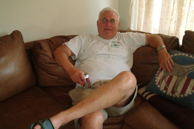 TX-11-MINI-52: John Carlson, NJ, 1st Plt, 1967-68, during the June 2011 mini-reunion.