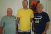 TX-11-MINI-58: Frenchy Charbonneau, Nathan Allen, and John Carlson enjoy a fun moment during the June 2011 mini-reunion.