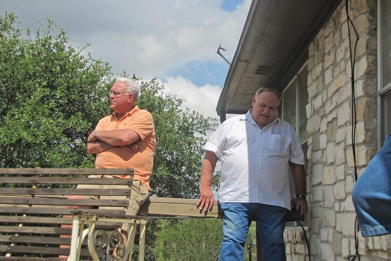 TX-11-MINI-04: John Carlson and Don Kaiser, Texas mini, June 2011.