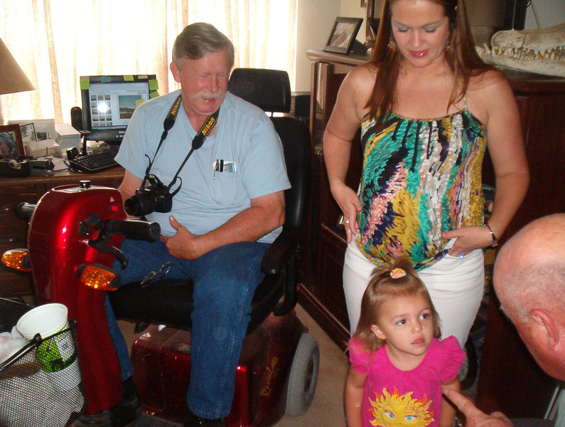 TX-11-MINI-57: Alan Allen, Shauna and Riley Allen, and Frenchy Charbonneau.