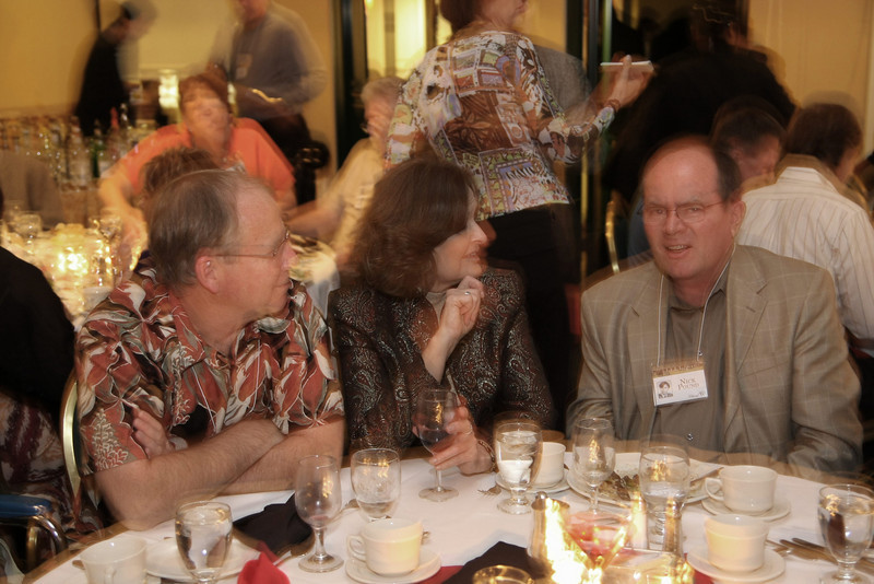 Steve Hayes, Nancy Lund Hayes and Nick Pound