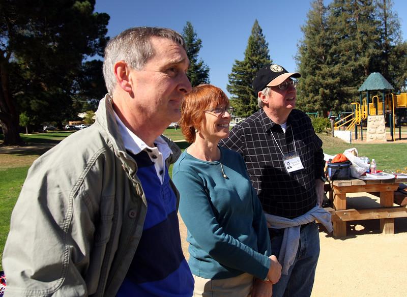 Wayne St John, Barbara & Dave Larsen