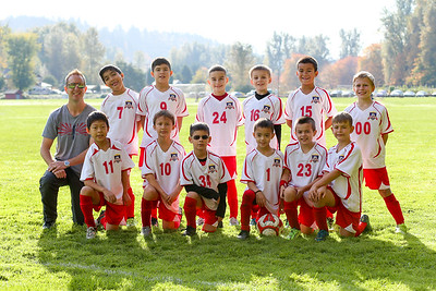 Gunners Soccer Team  2016