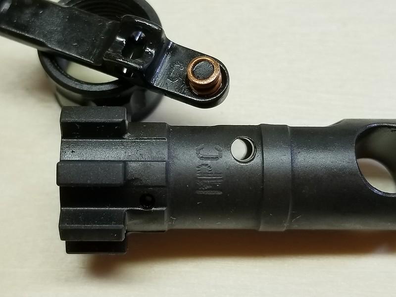 BCG markings  - AR15 COM
