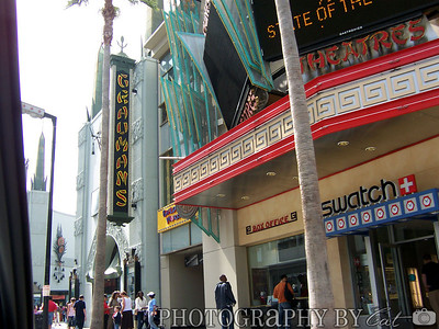 Approaching the Mann's Chinese Theater
