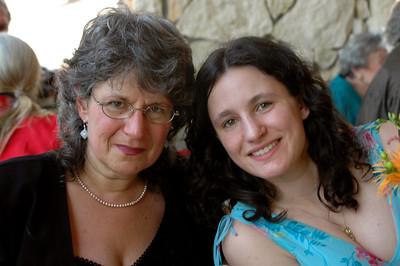 My mom and I.