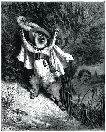 Gustave Dore - Fairy Realm : A Collection of the Favorite Old Tales - Puss in Boots
