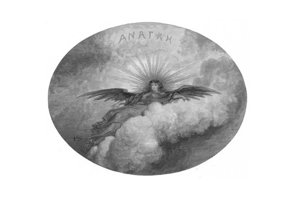 ANATKH.<br /> <br /> The Raven / by Edgar Allan Poe ; illustrated by Gustave Doré, 1884