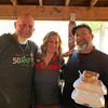 From left, Steve Chamberland of Tampa, Fla., Valerie Whitman of Tyngsboro and Paul Welcome of Lowell