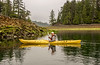 Low tide and calm waters for kayaking in the Bischof Islands, Juan Perez Sound, Haida Gwaii, BC