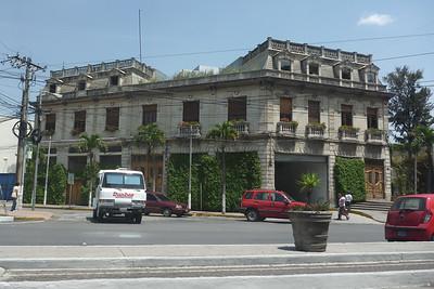 Guate z za okna Zbyszkowego samochodu