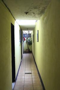 Korytarz w naszym hoteliku