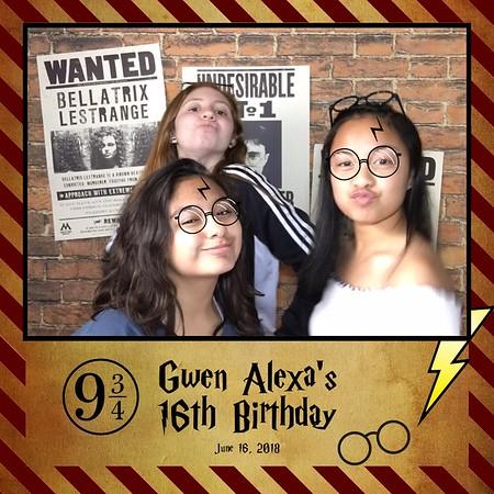 Gwen Alexa's 16th Birthday - Selfie Booth Boomerang & GIF
