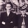 Mom with Grandmother Swinyard.