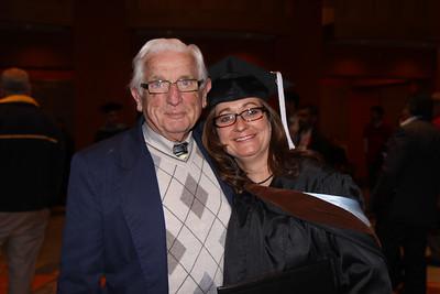 Jack and Gwen - Gwen Howard Kean U graduation Masters Education May 11 2010 NJ Performing Arts Center