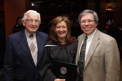 Jack, Gwen and Bill - Gwen Howard Kean U graduation Masters Education May 11 2010 NJ Performing Arts Center