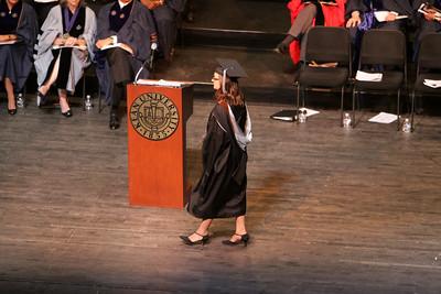 Gwen Howard Kean U graduation Masters Education May 11 2010 NJ Performing Arts Center